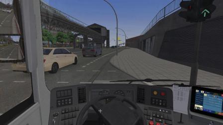 【巴士模拟2】#1:驾驶沃尔沃7900Hybrid运行于111路(Bf. Altona —Shanghaiallee (Ank. 1))   OMSI 2
