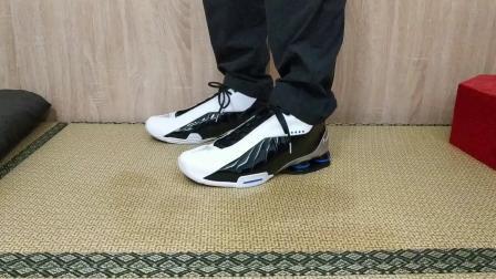 龙哥号外134 Nike Shox BB4黑白