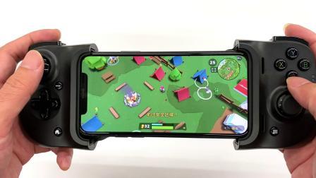 雷蛇骑士游戏手柄开箱试用,这回 iPhone 有点游戏机的样子了。