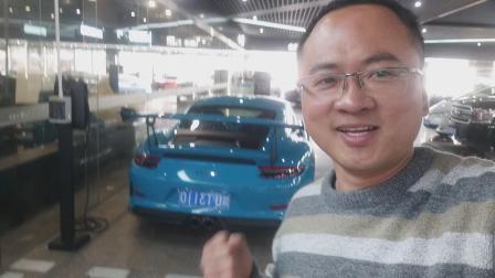"""小沈嗨聊:""""青蛙王子""""保时捷911 GT3RS 3.2秒破百 神兽啊!"""