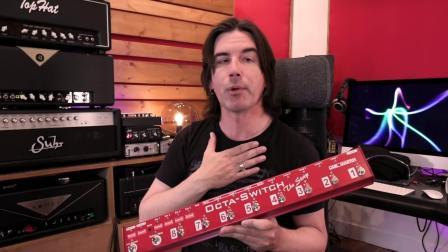 Carl Martin Octaswitch The Strip 卡尔马丁 吉他 单块效果器控制踏板