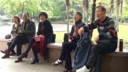 鄭老師對對一群遊中山公園