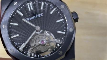 R8厂 V3升级爱彼皇家橡树黑武士陀飞轮腕表