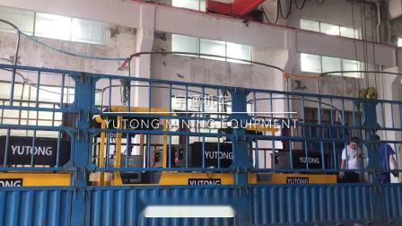 CTY2.5吨湘潭矿用锂电池电机车出口发货视频