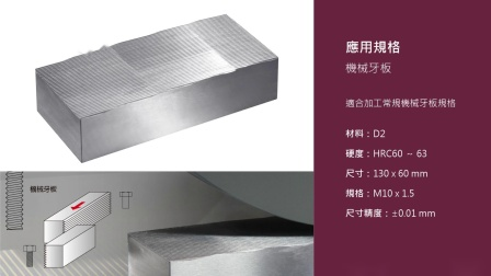 【Chevalier福裕磨床】螺絲產業│牙板加工應用_SMART-B1224III