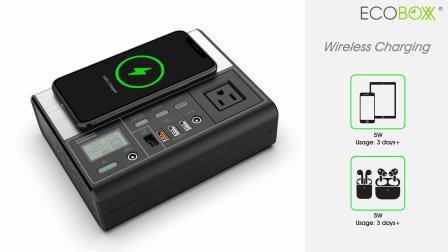 EcoBoxx Portable Power Station