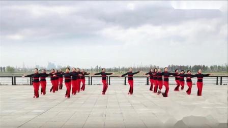 就是让你美❉广场舞正面集体演示