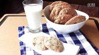 《宅男美食》24集怎么做美国巧克力豆曲奇(Chocolate Chip Cookies)