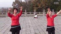 婆娑村《鱼与水》广场舞 《缅桂花开》