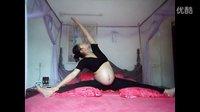 刘珍 孕晚期床上瑜伽 【始兴天元健身汇】 珍珍教练 9个月半月