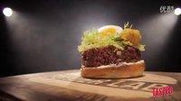 (壮阳必备)生鲜牛肉和炸生蚝汉堡 - Burger Lab