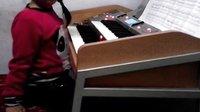 双排键电子琴演奏,青花瓷