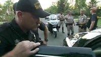 美国加州多地警方逮捕偷车歹徒