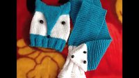 【小辛娜娜编织教程】第31集狐狸帽子围巾(下)小辛娜娜零基础编织视频教程 织帽子