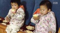 宝贝们两岁生日的小小蛋糕 20140306