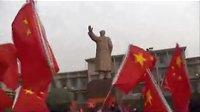 山西各界群众与大学生纪念毛主席活动现场