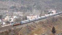 2014-02-05 宝成线 北京西 - 成都 天府之星T7次列车通过两当车站