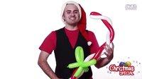 小也魔术气球教程-圣诞装饰品手持棒_720P