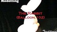 小也魔术气球教程-单根兔子_480P