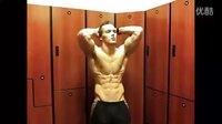 肌肉男模Marcfitt腹肌训练1