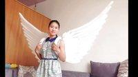 魔术气球翅膀、大型翅膀、视频教学  免费视频教程 丽丽气球  气球衣服 服装