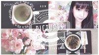 【梁吉娜软件】我的Instagram 微博图片软件分享教程(加素材|花背景)