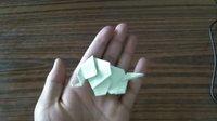 大象 折纸视频教程 折纸艺术 www.zhezhiyishu.com
