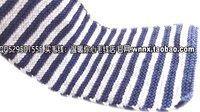 温暖你心毛线店 第194集 平针横条纹男士围巾围脖的编织方法