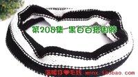 温暖你心毛线店 第208集黑白百搭男士围脖的织法钩针缝合围巾手工