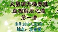 无染觉性第1讲-仁德上人(2010年7月)