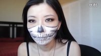 万圣节骷髅面具妆- Pennynini 之Fun 妆容分享