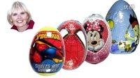 #23 出奇蛋:英语视频 迪斯尼公主 米妮鼠 杰克与梦幻岛海盗 蜘蛛侠 eggs Disney