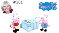#101 粉红猪小妹 少儿英语 亲子教育 生日礼物 珮珮猪 乔治 冰淇淋 费雪 女孩玩具