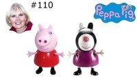 #110 粉红猪小妹 珮珮猪 柔伊斑马 生日礼物 种花 英语视频 玩具妈妈