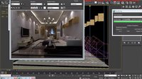 3dmax教程入门到精通室内设计教程完整项目实战-现代客厅(项目全过程)