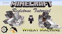 【Minecraft】Redstone Tutorial &Wheat Machine& #我的世界#