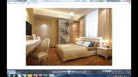 3dmax教程室内设计教程-完整项目实例(从CAD到出图)卧室超清版