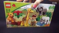 [积木砖家] LEGO 乐高 得宝 益智 威乐婴儿动物园 长颈鹿 玩具 大象