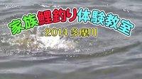 家庭鲤钓体验2014 多摩川