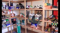 ShoeZeum Jammin' In The Break Room With 200 Nike Dunks And Air Forces