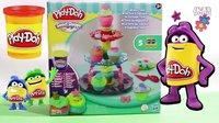 培乐多【Play Doh】蛋糕树套件模具 含彩泥. 惊人!