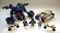 LEGO 蝙蝠侠对贝恩动手玩