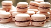 French Rose-Raspberry Macarons - From The Test Kitchen