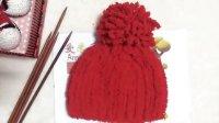 爱米手工  蘑菇帽编织教程