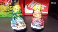 What The Monster Air Jordan 4 Custom