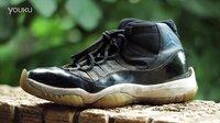 #球鞋保养# Air Jordan 11 SPACE JAM 完整修复