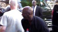 Michael Jordan arriving to his hotel in Paris 12 june 2015 France