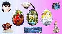 巧克力宝蛋,精灵高中,迪士尼乐佩公主出奇蛋 Disney Princess Surprise Egg #118