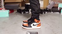 Air Jordan 1 Retro High OG -Shattered Backboard- 扣碎篮板 上脚欣赏