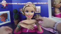 Barbie Doll 芭比 指甲彩绘 美甲DIY Nails 玩具妈妈 英语 生日礼物